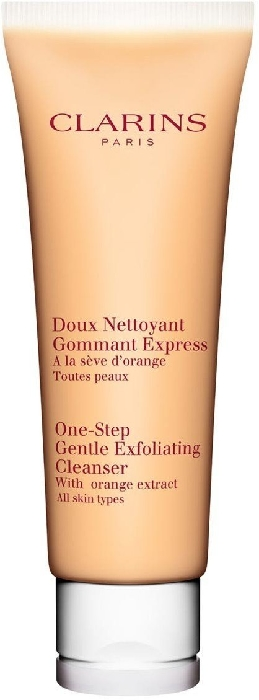 Clarins Cleansing One-Step Exfoliating Cleanser with Orange Extract 125ml