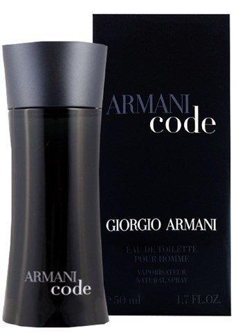 armani code 50 ml