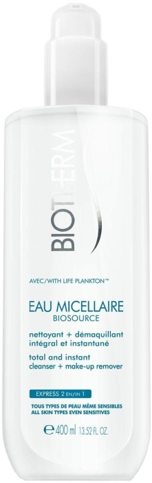 Biotherm Micellar Waterproof Cleanser 400ml