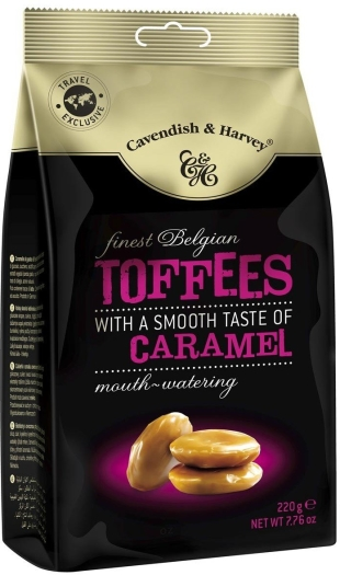 Cavendish&Harvey Finest Belgian Toffees 220g