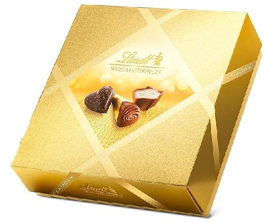 Lindt Swiss Masterpieces Golden Glamour 266g