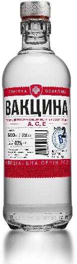 Vaccine N2 Vodka 40% 0,5L