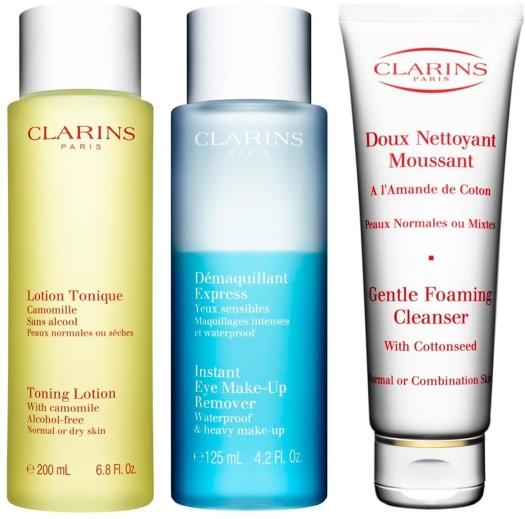Clarins Cleansing Set 2x125ml+200ml