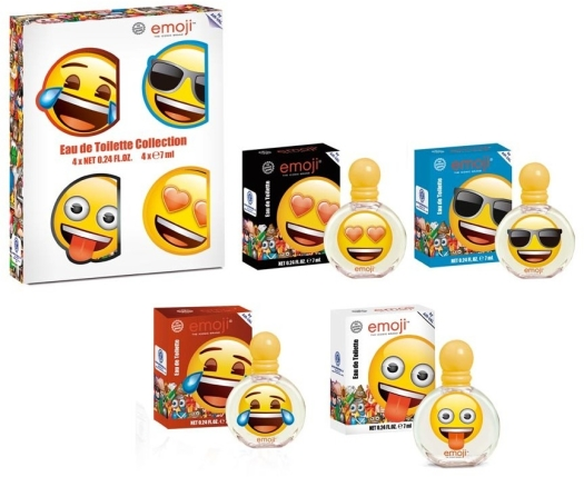 Kids World Coffret Miniatures set 4x Emoji Eau de Toilette 7 ml 1ST