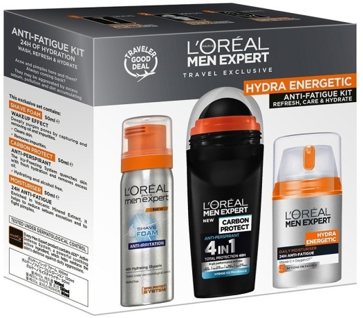 L'Oreal Paris Hydra Energetic Set 3x50ml