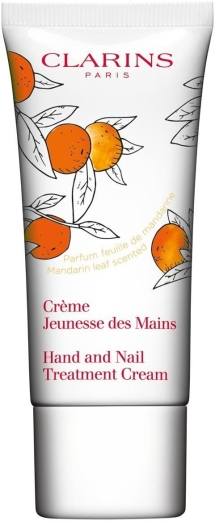 Clarins Bodycare Hand Nail Treatment Cream Mandarine Leaf 30ml