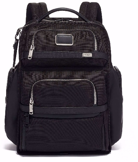 Tumi Alpha Backpack Laptop Brief Pack, Black 02603580DCH3E