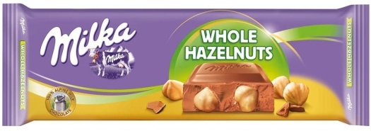 Milka whole nut 300g