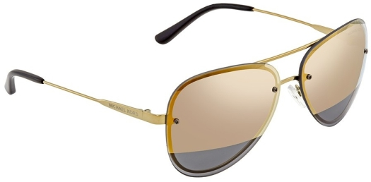 Michael Kors Women's sunglasses Gold Mirror