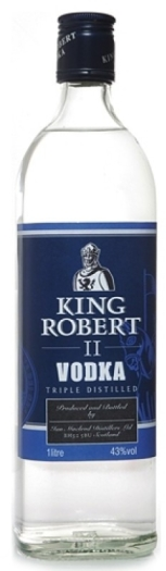 King Robert II Vodka 1L