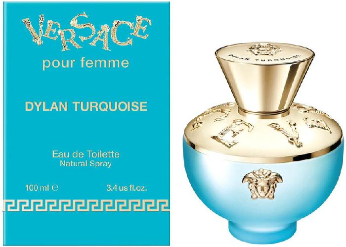 Versace Dylan Turquoise Eau de Toilette 100ml