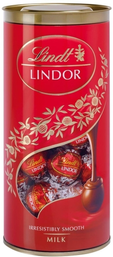 Lindt Lindor Milk Ball Tube 400g