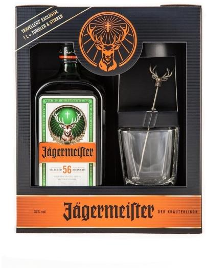 Jagermeister Jаgermeister 35% Tumbler&Stirrer 1L