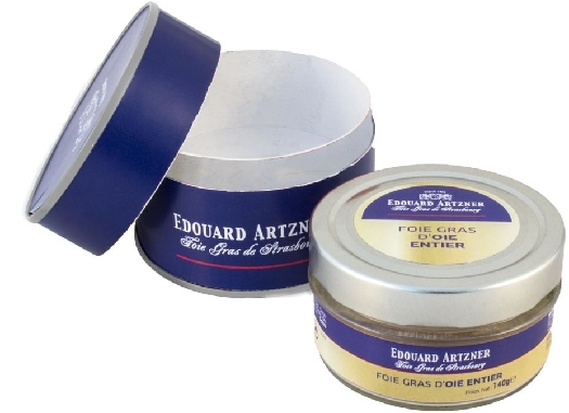Edouard Artzner Whole Goose Foie Gras Ed. Artzner in glas jar 140 g 140g
