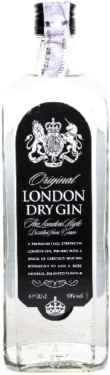 Wenneker Original London Dry Gin 40% 1L