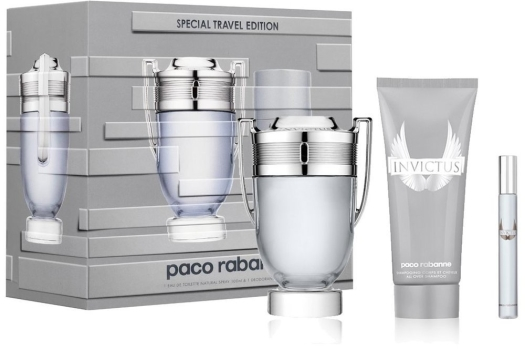 Paco Rabanne Invictus Set EdT 2x100ml + 10ml