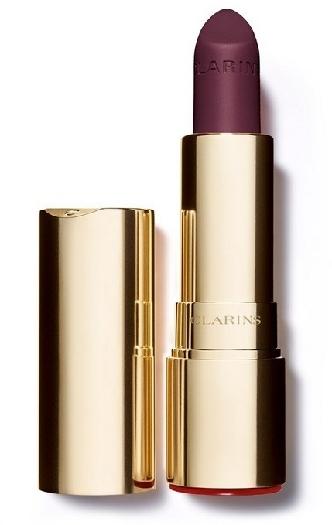 Clarins Joli Rouge Velvet Lipstick #744V - Soft Plum 3.5g