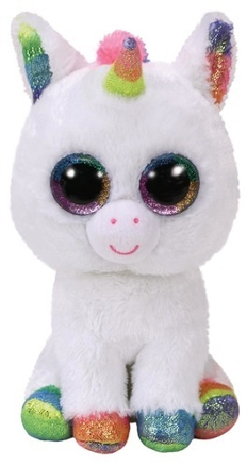 Ty Beanie Boos, pixy unicorn - beanie boo medium