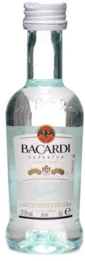 Bacardi Superior Rum 0.05L