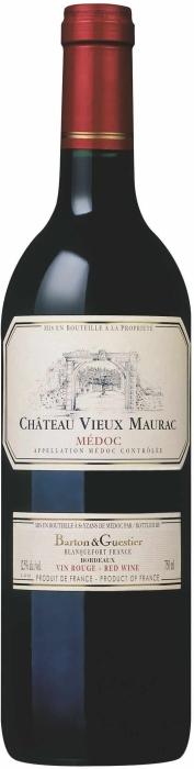 Barton&Guestier Chateau Vieux Maurac Medoc 0.75L