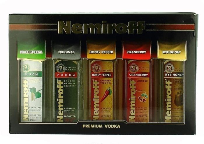 Nemiroff Gift Set 5x0.1L