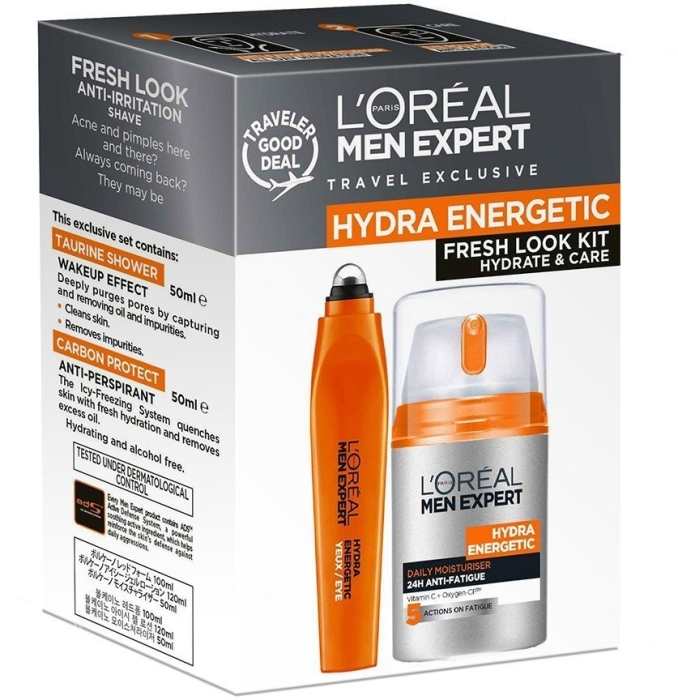 L'Oreal Paris Men Expert Fresh Look Duo Set 50ml+10ml