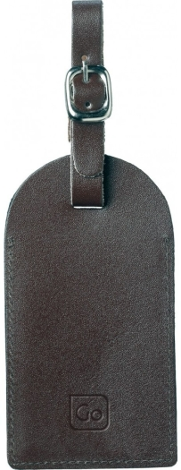 Go Travel Leather Address Tag X 2 159