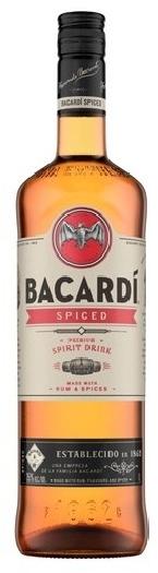 Bacardi Spiced Rum 35 1L