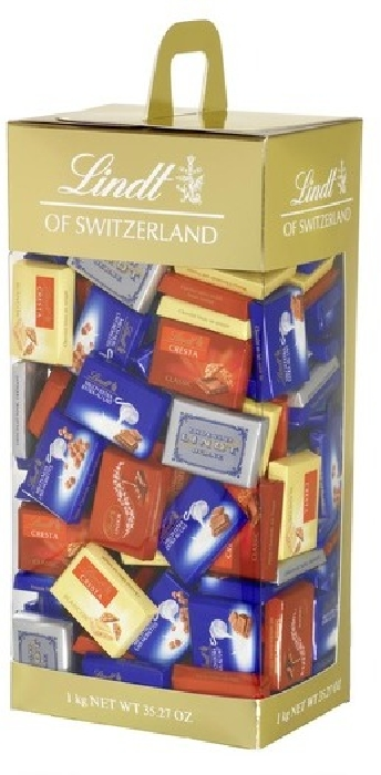 Lindt Naps 1 Kg in duty-free at airport Mumbai - on Arrival