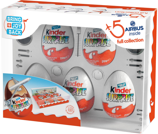 Kinder Surprise T5 Airbus 100G 100g