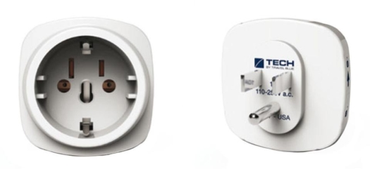 Travel Blue Adapter Europe to Usa 930