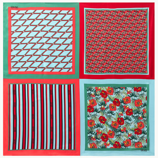 Liu Jo Pleated foulard