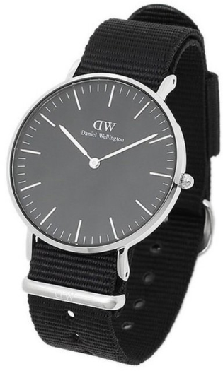 Daniel Wellington DW00100151 36 Classic Black Cornwall