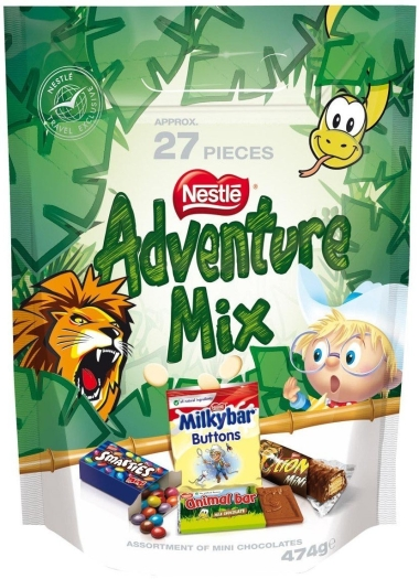 Nestle Adventure Mix 474g