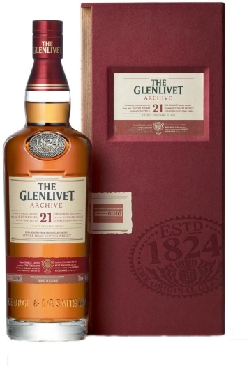 Glenlivet 21 Year Old Archive 0.7L