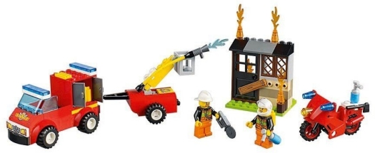 LEGO System AS, line Juniors, fire patrol suitcase