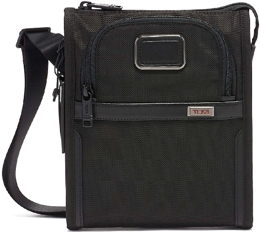 Tumi ALPHA 3 Pocket Bag Small, Black 117345