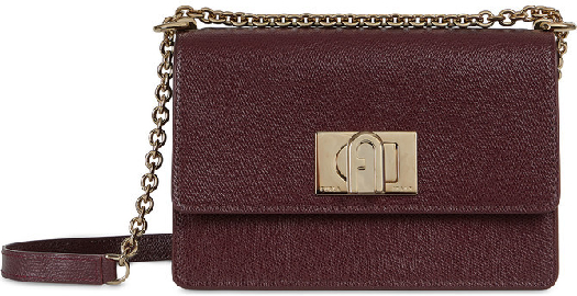 Furla 1927 Crossbody Burgundy