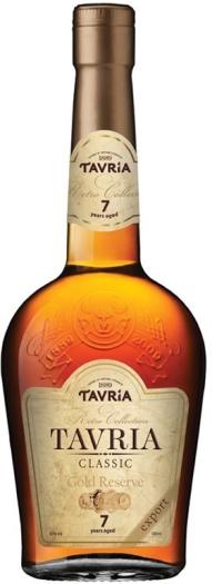 Tavria Classic Cognac 40% 0.5L