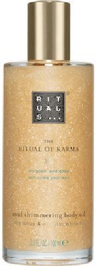 Rituals Karma Body Shimmer Oil 100ML