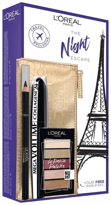L'Oreal Paris Look On The Go The Night Escape Set