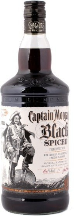 Captain Morgan Black Spiced 1L
