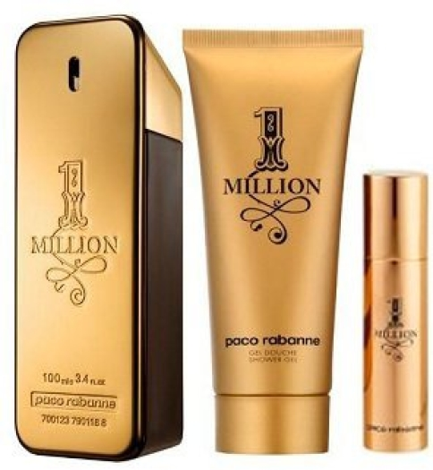 Paco Rabanne 1 Million Set EdT 100ml+100ml+10ml