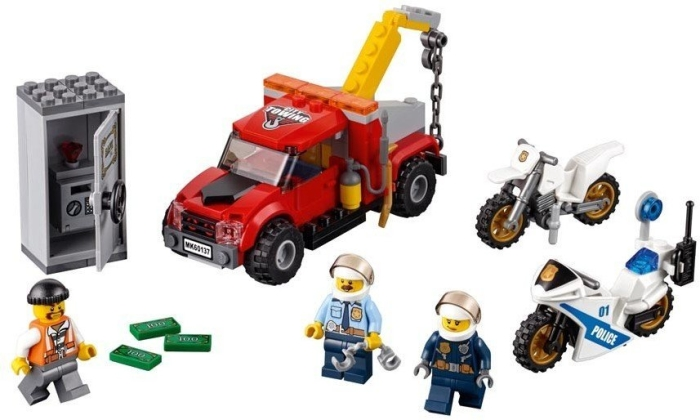 LEGO System AS, line City, tow truck trouble
