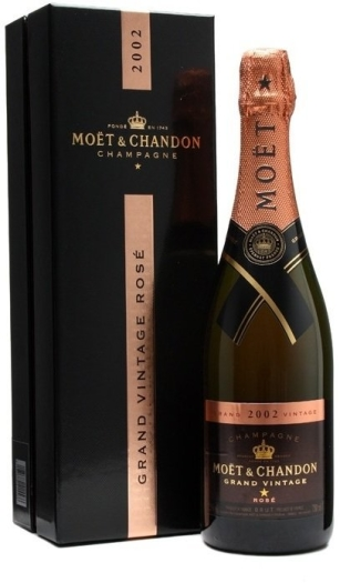 Moet&Chandon Grand Vintage 2002 Rose 12.5% 0.75L