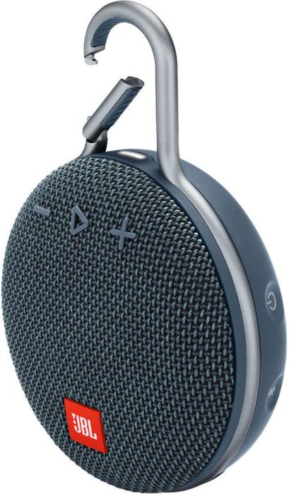 JBL CLIP 3 Portable Bluetooth Speaker Ocean Blue 220g