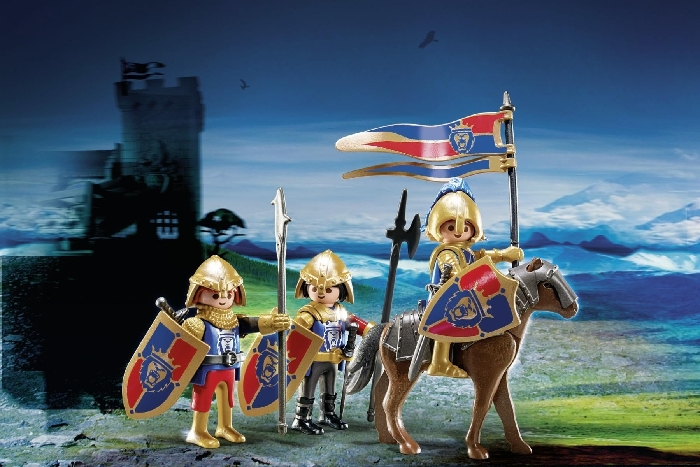 Playmobil royal lion knights