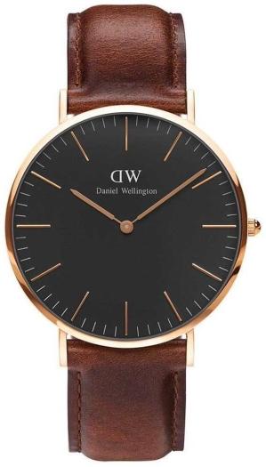 Daniel Wellington DW00100124 40 Classic Black St Mawes