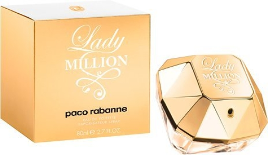 Paco Rabanne Lady Million Eau de Toilette EdT 80ml