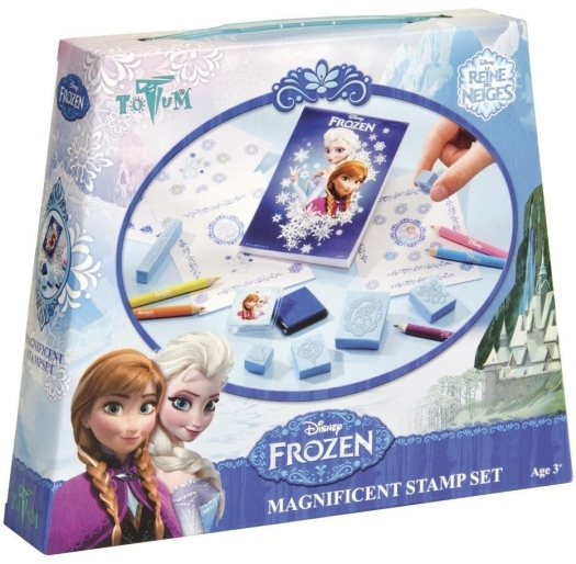 Frozen, stamp set